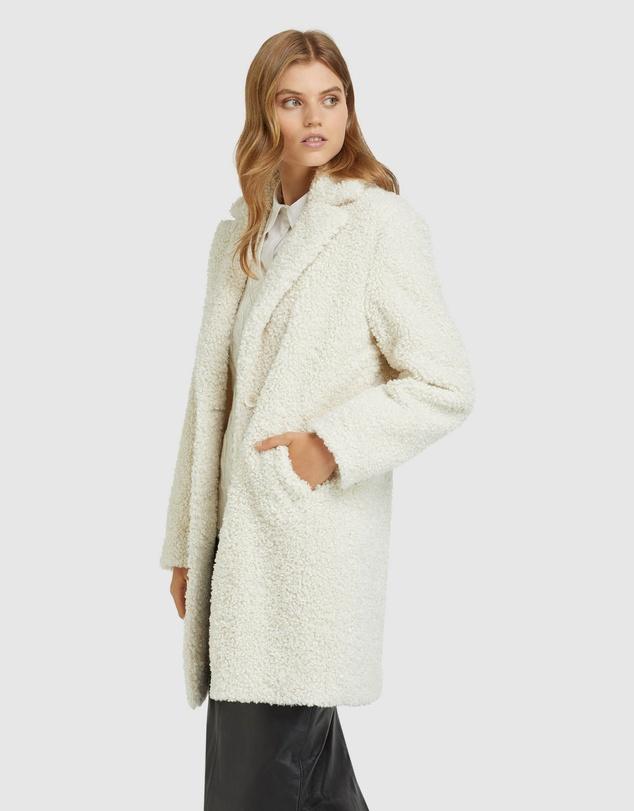 Women Teddy Faux Fur Coat