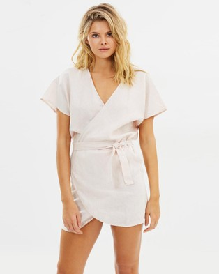 Lilya – Roni Mini Dress Blush