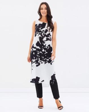 Faye Black Label – Light and Shade Layering Dress