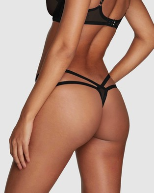 Agent Provocateur Joan Thong - Thongs & G-Strings (Black)