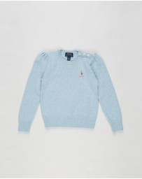 Polo Ralph Lauren - Wool Crew Sweater - Kids (5-7 Years)