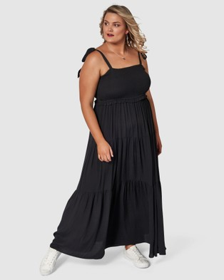 Sunday In The City - Savages Maxi Dress - Dresses (Black) Savages Maxi Dress
