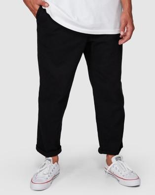 Billabong Larry Twill Pants - Pants (BLACK)