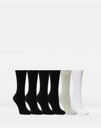 Staple Superior - 6-Pack Crew Socks