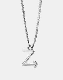 Karen Walker - Z Initial Love Letter Necklace