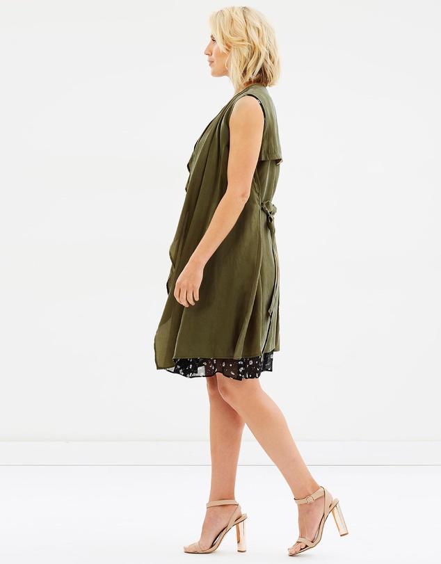 Women Utilitary Style Vest