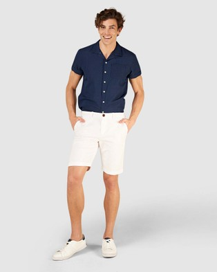 Superdry International Chino Short - Chino Shorts (Optic)