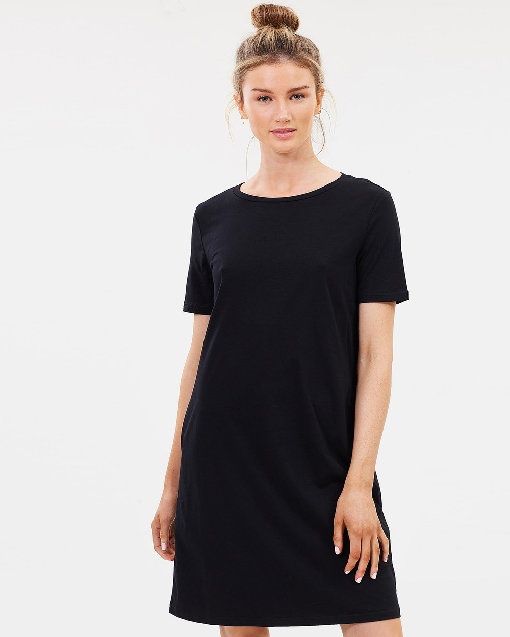 Lincoln St The Boxy Dress Dresses Black The Boxy Dress