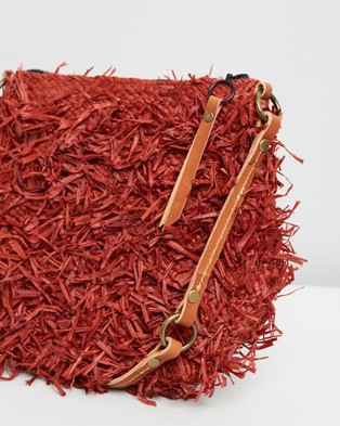 Sans Arcidet Paris Balagan Pile Poil Pocket Small - Bags (Masai)