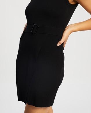 Atmos&Here Ria Mini Dress - Bodycon Dresses (Black)