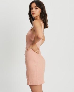 Tussah Carrie Mini Dress - Dresses (Dusty Rose)