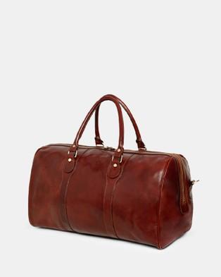 Republic of Florence Beltrami Weekender - Duffle Bags (Brown)