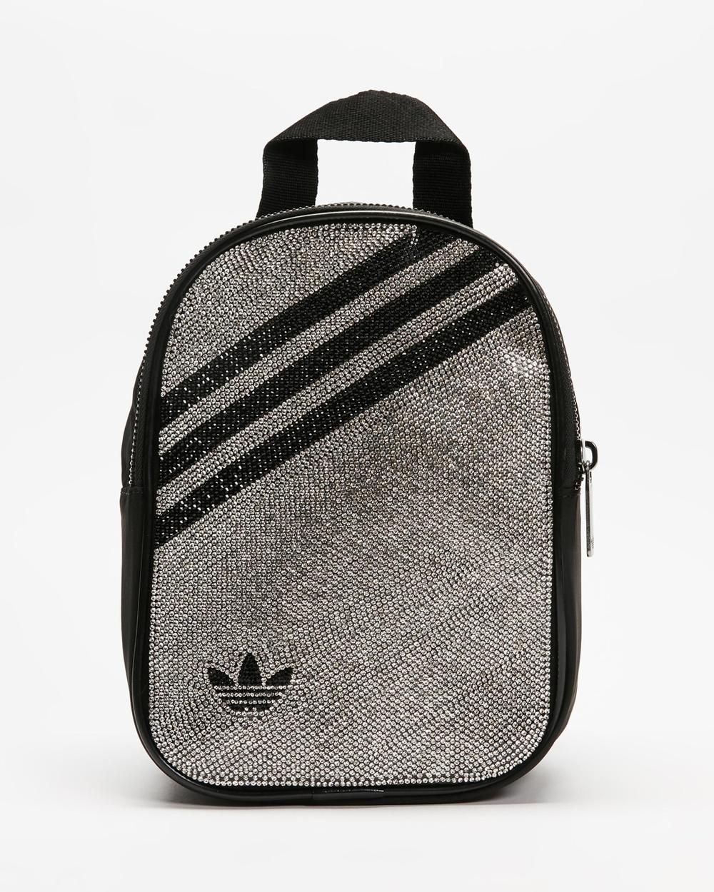 adidas Originals Metallic Mini Backpack Backpacks Silver Metallic