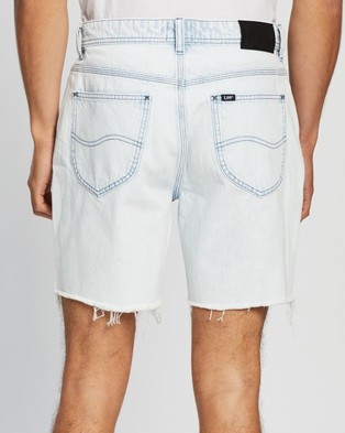 Lee L Two Shorts - Denim (White Water)