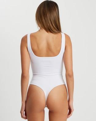 BWLDR Ravello Bodysuit - Tops (White)