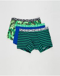 Bonds Kids - 3-Pack Yardage Trunks - Kids-Teens