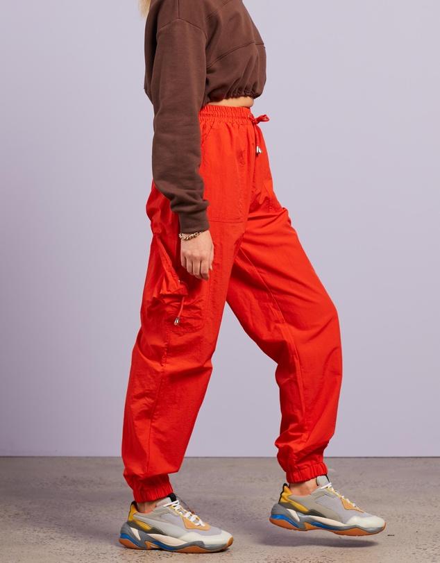 Women Pocket Detail Cargo Trousers