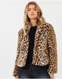 Atmos&Here - Nia Faux Fur Coat