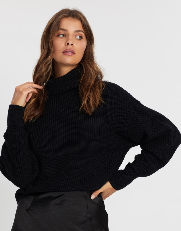 Atmos&Here - Shania Turtle Neck Knit Jumper