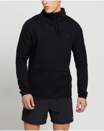 Nike - Tech Fleece Long Sleeve Funnel Neck Top