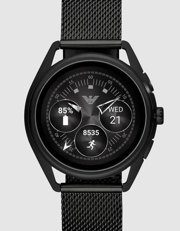 Emporio Armani - Black Men's Digital Watch