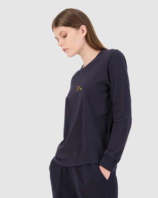 Huffer - LS Laneway Tee Unwind - T-Shirts & Singlets (Blue) LS Laneway Tee-Unwind