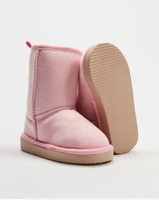 Cotton On Kids Classic Homeboots   Kids Teens - Boots (Marshmallow)