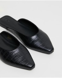 Atmos&Here - Corelli Leather Flats