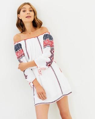 Tigerlily – Antares Dress White