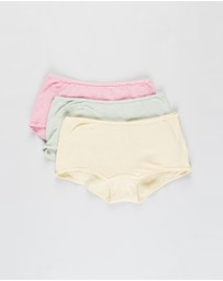 Cotton On Body - Cotton Rib Boyshorts - 3-Pack
