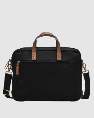 Fossil Haskell Shoulder Bag MBG9538001 - Bags (Black)