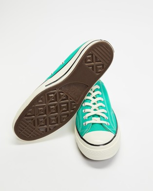 Converse Chuck Taylor All Star 70 Recycled Canvas Low Tops   Unisex - Low Top Sneakers (Court Green)