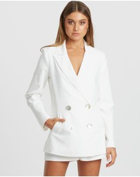 The Fated - Epitome Linen-Blend Blazer