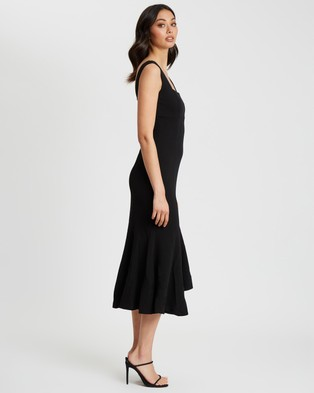 CHANCERY - Surie Midi Dress - Bridesmaid Dresses (Black) Surie Midi Dress
