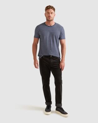 Sportscraft - Supersoft Stripe Tee - T-Shirts & Singlets (Navy Multi) Supersoft Stripe Tee