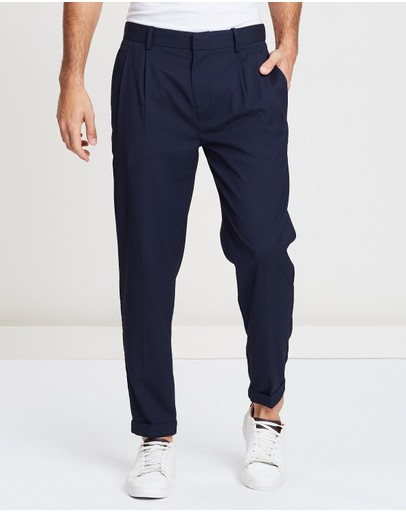 Cole Pleated Trousers
