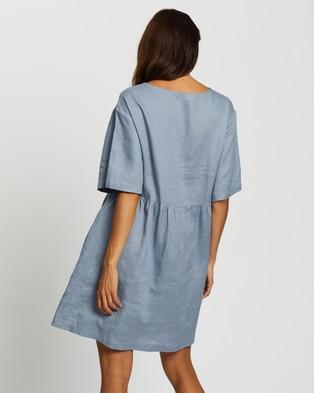 Assembly Label Drawn Dress - Dresses (Steel Blue)