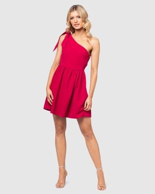 Pilgrim Marli Dress - Dresses (Red)