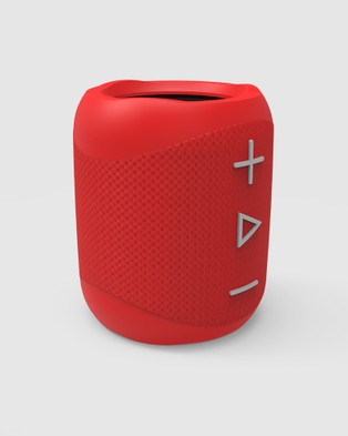 Blue Ant - BlueAnt X1 Bluetooth Portable Speaker Tech Accessories (Red)