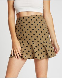 All About Eve - Dotty Elsa Skirt