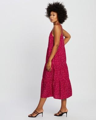 All About Eve Bondi Midi Dress - Printed Dresses (Multicolour Print)