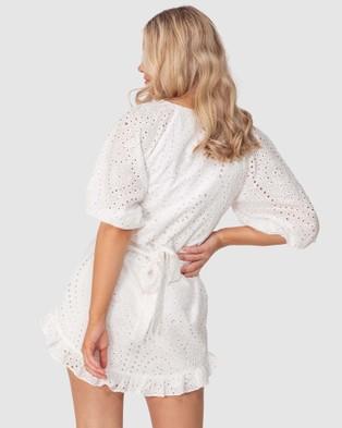Three of Something Faithfiul Dress - Dresses (WHITE)