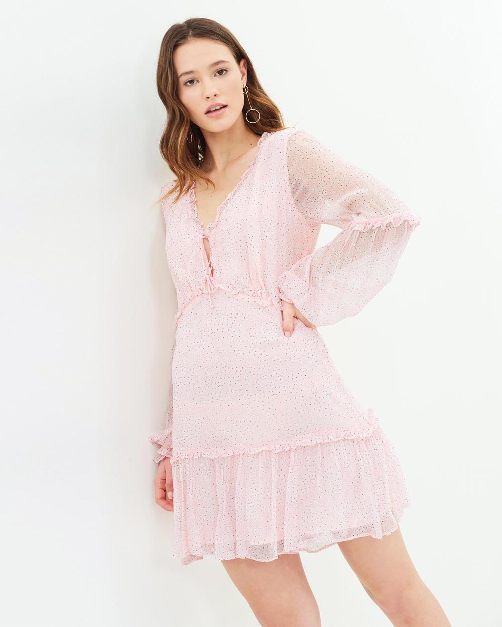 Stevie May Alder LS Mini Dress Printed Dresses Daisy Fields Print Alder LS Mini Dress