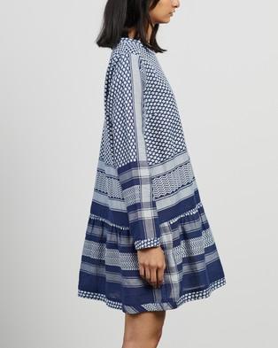 Cecilie Copenhagen Dress 2 O LS Dresses Twilight Blue