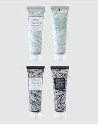 LOVEBYT - Charcoal & Mint and Peppermint Toothpaste Pack
