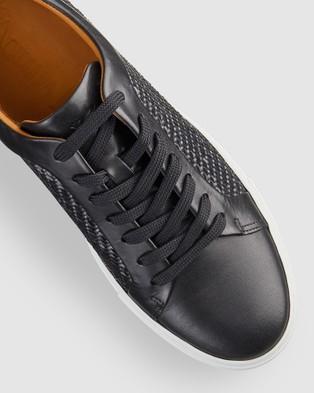 Aquila Aztec Sneakers - Low Top Sneakers (Black)