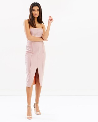Bless'ed Are The Meek – Affinity Dress – Bodycon Dresses PINK