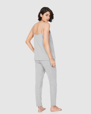 Soon Maternity Luxe Lounge Set - Two-piece sets (GREY)