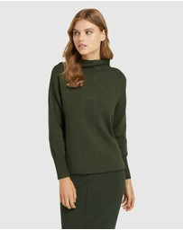 Oxford - Paula Funnel Neck Knit O