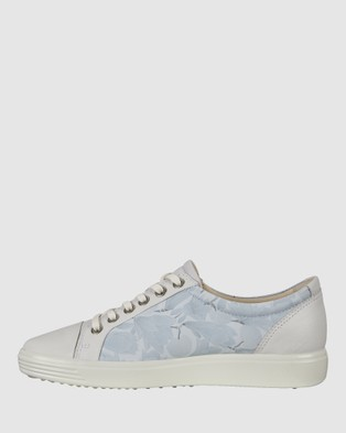 ECCO Soft 7 Women's Sneakers - Lifestyle Sneakers (Blue)